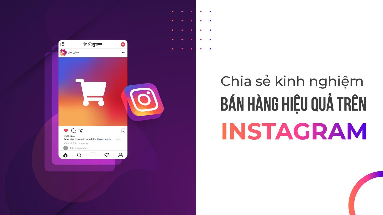 Chiến thuật bán hàng trên instagram